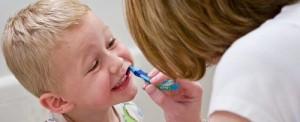 Zobu tīrīšana bērniem